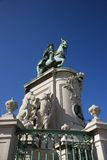 Sculpture of King Jose I. Stock Photography
