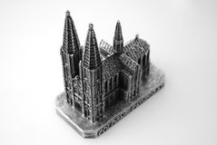 Sculpture of Koln DOM. The sculpture of the famous cathedral of Cologne (Koln Dom Stock Image