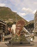 Sculpture 'La noblesse du temps', Salvador Dali Stock Images