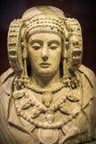 Sculpture. The Lady of Elche pre-Roman sculpture Stock Photos
