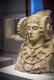 Sculpture. The Lady of Elche pre-Roman sculpture Stock Photography