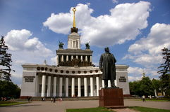 Sculpture of LENIN Royalty Free Stock Photography