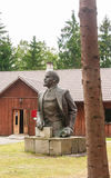 Sculpture Lenin. Grutas Park Royalty Free Stock Image