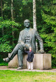 Sculpture Lenin. Grutas Park Stock Photo