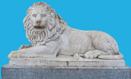 Sculpture of a lion Stock Photography