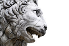 Sculpture of lion Stock Images