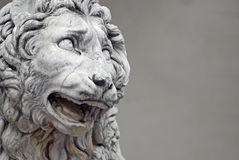 Sculpture of lion Stock Image