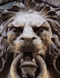 Sculpture of a lion as a symbol of strength Royalty Free Stock Images