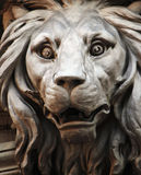 Sculpture of a lion as a symbol of strength and greatness Royalty Free Stock Photos