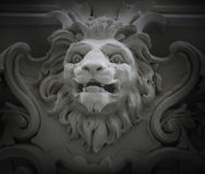 Sculpture of a lion as a symbol of strength Royalty Free Stock Photo
