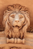 Sculpture of a lion as a symbol of strength Royalty Free Stock Image
