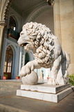 Sculpture of lion Stock Photo