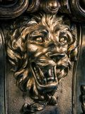 Sculpture of a lion Stock Images