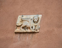 Sculpture of lion Stock Photography
