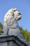 Sculpture of a lion Stock Photo