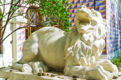The sculpture of a lion Royalty Free Stock Photos