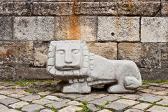 Sculpture of lion Royalty Free Stock Photography