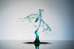 Sculpture of Liquid Royalty Free Stock Photo