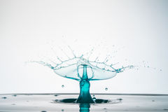 Sculpture of Liquid Royalty Free Stock Images