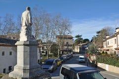Monument to Cebrià Calvet-Catalonia Royalty Free Stock Image