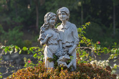 Sculpture of Lovers Stock Photo