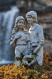 Sculpture of Lovers Stock Images