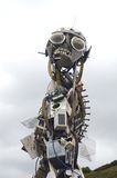 Sculpture Made Out Of Mankind's Detritus The Eden Project  Tom Wurl Royalty Free Stock Images