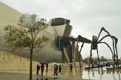 Sculpture Maman De Bourgeois In das Guggenheim-Museum Art Travel Holidays lizenzfreie stockfotos