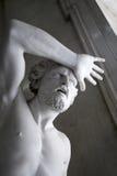 Sculpture of man Stock Image