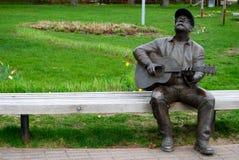 Sculpture of a man, Nida, Lithuania. Sculpture of a man, Nida, Lithuania, Europe Royalty Free Stock Photo