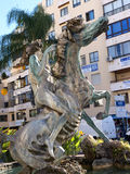 Sculpture in Marbella on the Costa del Sol Spain Stock Images