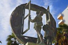 Sculpture in Marbella on the Costa del Sol Spain Stock Photo