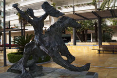 Sculpture in Marbella on the Costa del Sol Spain Stock Photography