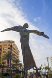 Sculpture in Marbella on the Costa del Sol Spain Royalty Free Stock Photo