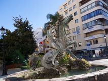 Sculpture in Marbella on the Costa del Sol Spain Stock Photos