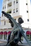 Sculpture in Marbella on the Costa del Sol Spain Royalty Free Stock Photos