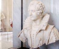 Sculpture of Maria Barberini Duglioli by Giuliano Finelli Stock Photography