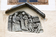 Sculpture of Maria Schnee pilgrimage church, Austr Stock Photos
