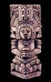 Sculpture maya Photo libre de droits