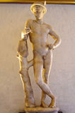 Sculpture of Mercury Royalty Free Stock Photography