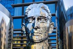 Sculpture `Metalmorphosis` by the Czech artist David Cerny Stock Photo