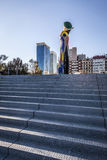 Sculpture of Miro in Barcelona Royalty Free Stock Photo