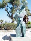 Sculpture moderne 2011 en Jaffa Photos libres de droits
