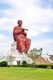 Sculpture Monk Somdej Toh Buddha Thailand Stock Image