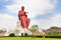 Sculpture Monk Somdej Toh Buddha Thailand Stock Photos