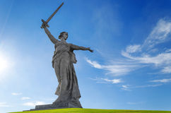 Sculpture Motherland Calls! Royalty Free Stock Image