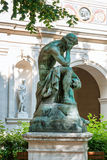 Sculpture in Museum of Fine Arts of Lyon, France. Statues in the park of Palais Saint-Pierre Stock Photo