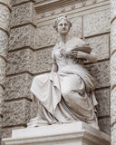 Sculpture in Museum of Fine Arts Royalty Free Stock Photos