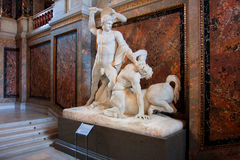Sculpture in the museum Stock Photography