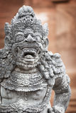 Sculpture of the mythical guard. Indonesia, Bali Stock Photo